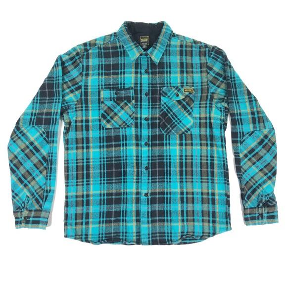 Volcom Other - Volcom Workwear Mens Large Plaid Flannel Shirt